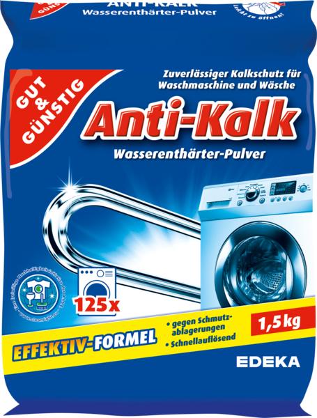 Anti-Kalk Wasserenthärter Pulver, Dezember 2017