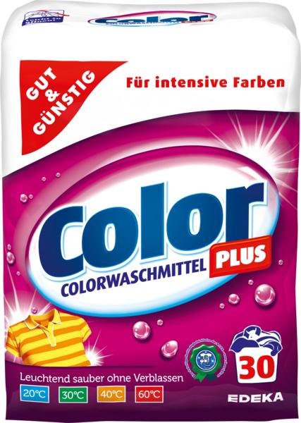 Colorwaschmittel 'Color Plus' Pulver, Dezember 2017