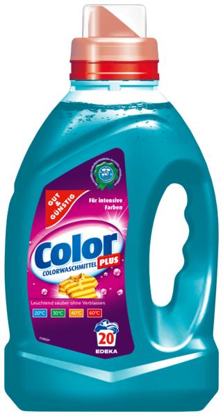 Colorwaschmittel 'Color Plus', Dezember 2017