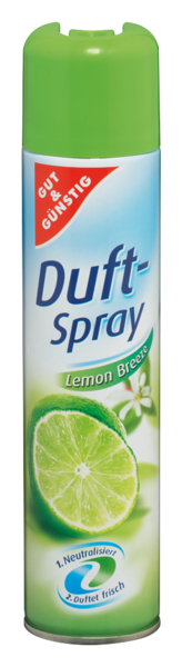 Duftspray Lemon Breeze, Dezember 2017
