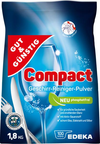 Compact Geschirr-Reiniger-Pulver, Dezember 2017