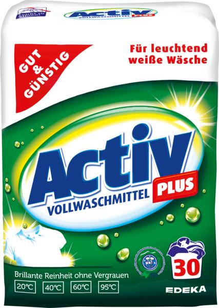 Vollwaschmittel 'Activ Plus', Dezember 2017