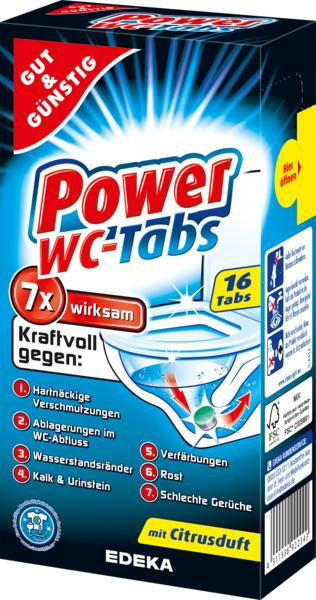 Power-WC-Tabs, Dezember 2017
