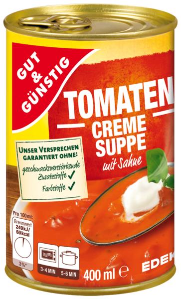 Tomatencremesuppe, Dezember 2017