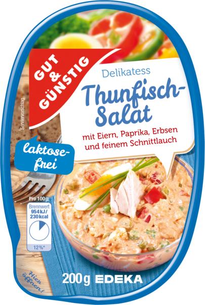 GUT & GÜNSTIG Thunfischsalat von Edeka