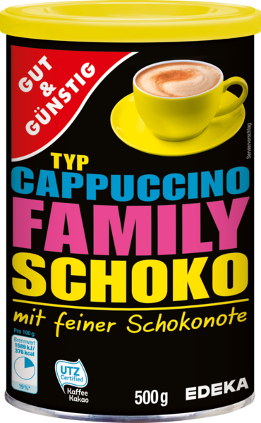 Cappuccino Schoko, Januar 2018