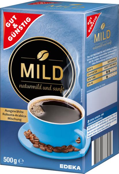 Kaffee Natur Mild, Januar 2018