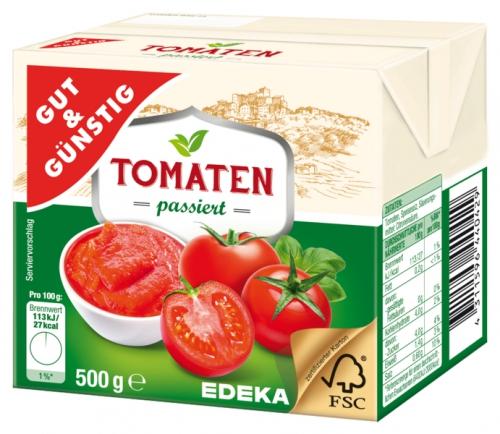 Passierte Tomaten, Januar 2018