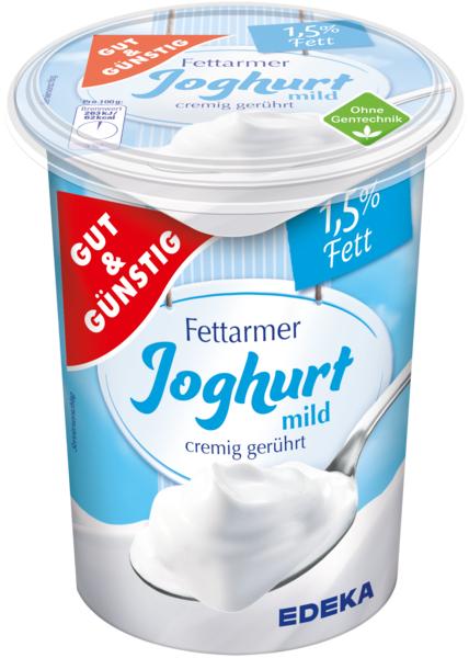 Fettarmer Joghurt mild, Januar 2018