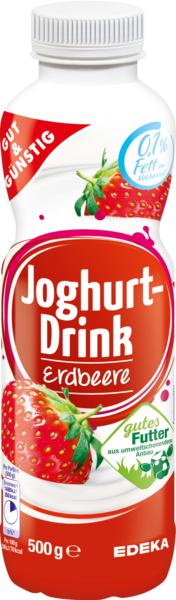 Joghurt-Drink Erdbeere, Januar 2018