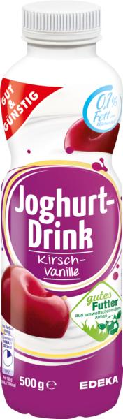Joghurt-Drink Kirsch-Vanille, Januar 2018