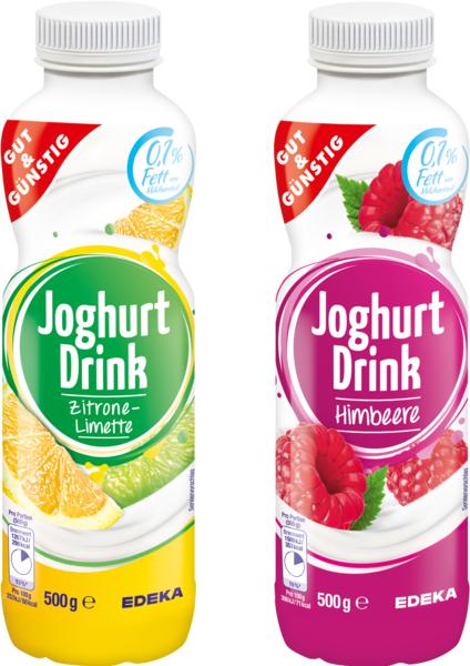 Joghurt-Drink Saison-Sorten, Januar 2018