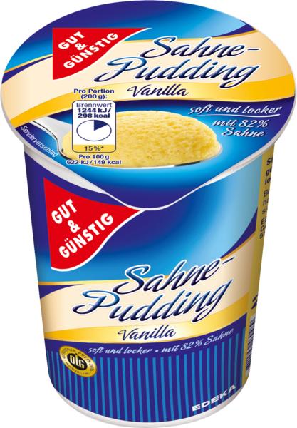 Sahnepudding Vanilla, Januar 2018