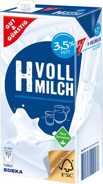 H-Vollmilch 3,5%, Februar 2018