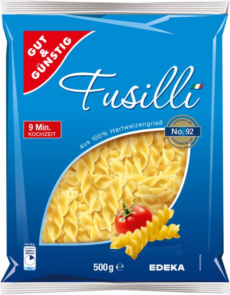 Fusilli , Januar 2018