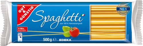 Spaghetti, Januar 2018