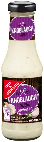 Knoblauch Sauce, Januar 2018