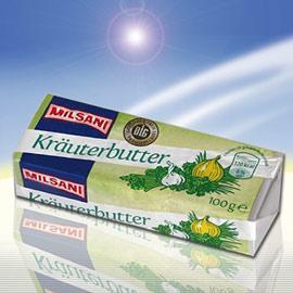 Kräuter-/Knoblauchbutter, Juli 2010