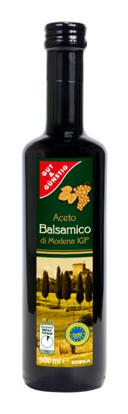 Aceto Balsamico di Modena, Januar 2018