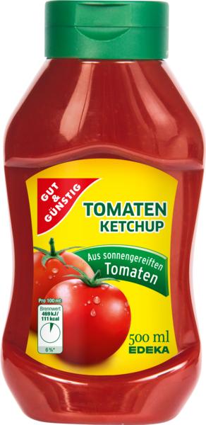 Tomatenketchup, Januar 2018