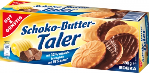 Schoko-Butter-Taler, Januar 2018