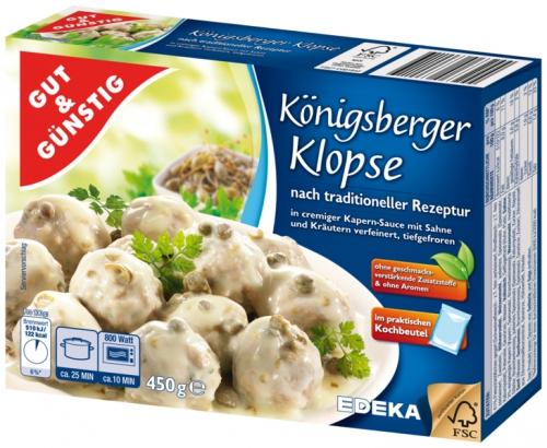 Königsberger Klopse, Dezember 2017