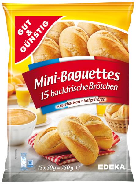 Mini-Baguettes, Dezember 2017