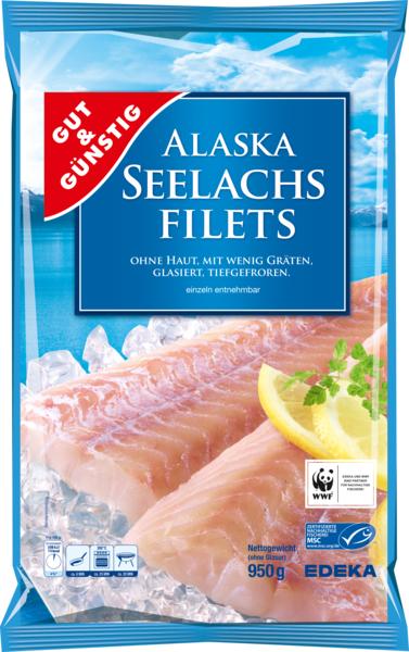 Alaska Seelachsfilets natur, Dezember 2017