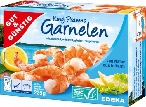 King Prawns Garnelen, Dezember 2017