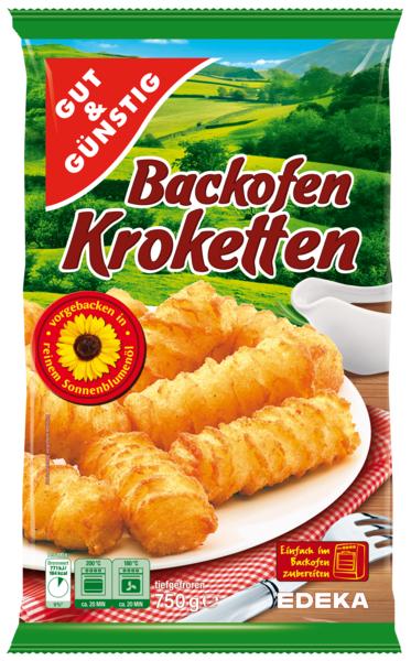 Backofen-Kroketten, Dezember 2017