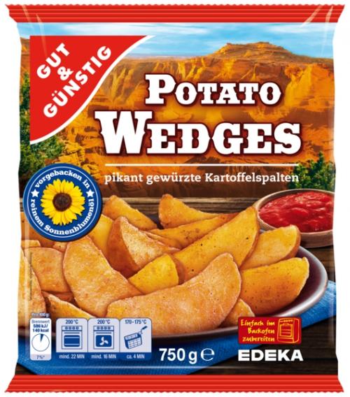 Potato Wedges, Dezember 2017
