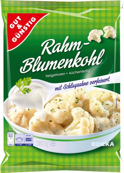 Rahm-Blumenkohl, Januar 2018