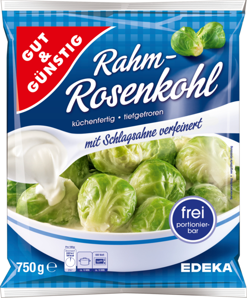 Rahm-Rosenkohl, Januar 2018