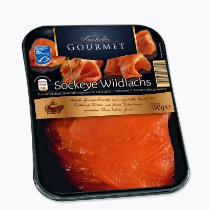 Sockeye-Wildlachs, Oktober 2012