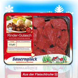Rinder-Gulasch, Oktober 2010