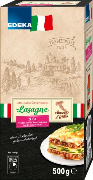 Lasagne-Blätter, Dezember 2017