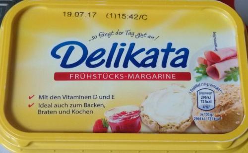 Frühstücks-Margarine, Mai 2017