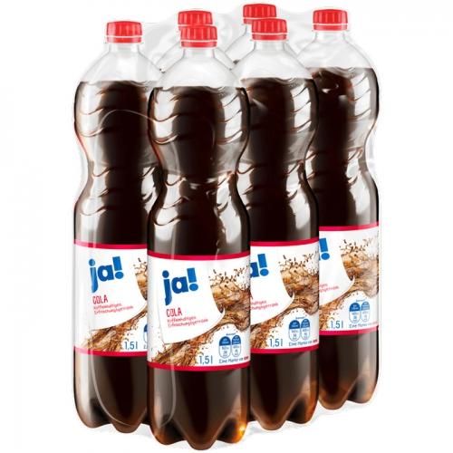 Cola 6x1,5l, Dezember 2017