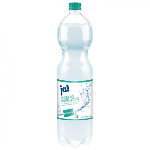 Mineralwasser Medium 1,5l, Februar 2017