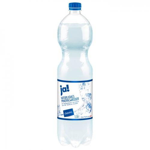Mineralwasser Classic 1,5l, Februar 2017