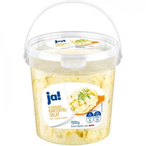 Kartoffelsalat mit Salatcreme, Januar 2018