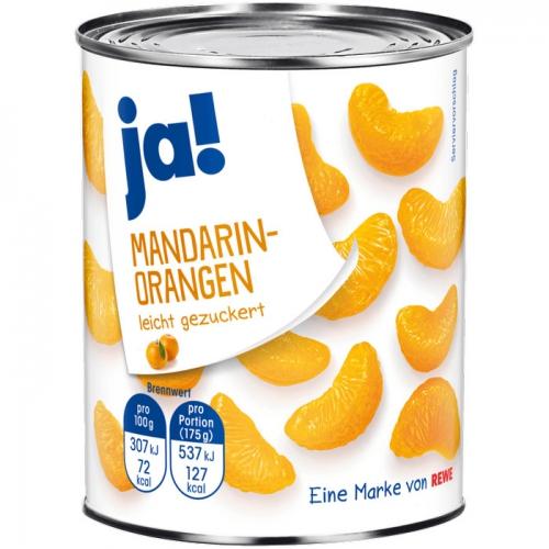 Mandarin-Orangen, April 2017