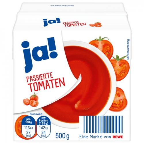 Tomaten passiert, September 2017