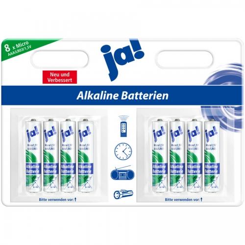 Batterien Alkaline | 1,5 V | Micro | AAA | LR03, Januar 2017