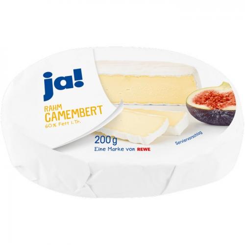 Rahm-Camembert, Juli 2017