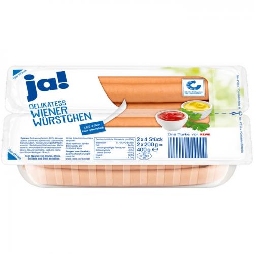 Wiener Würstchen, Juli 2017