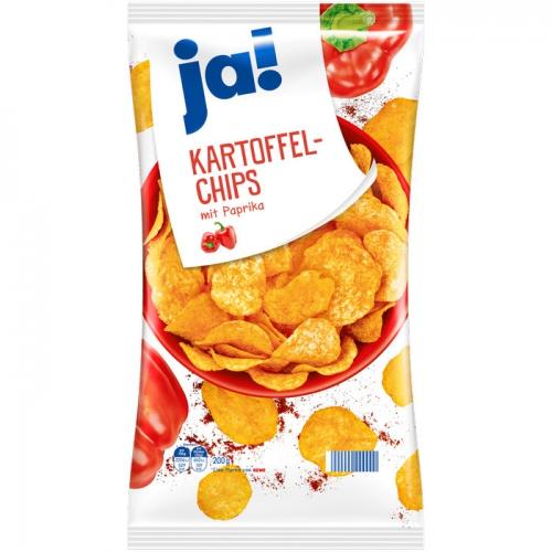 Kartoffel-Chips mit Paprika, Oktober 2017