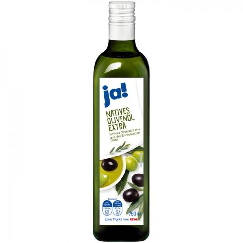 Natives Olivenöl Extra, Februar 2018