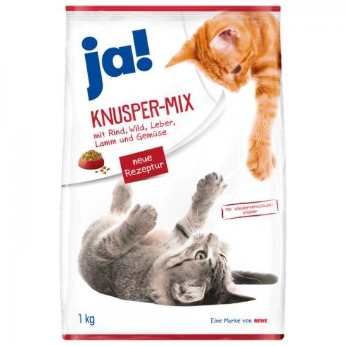 Katzenfutter Knusper-Mix, April 2017