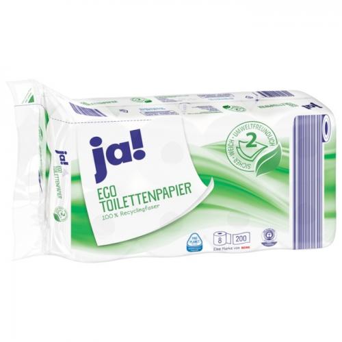 Toilettenpapier Eco 2-lagig, 8x200 Blatt, Januar 2018